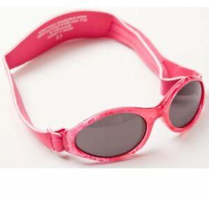 Baby Banz Adventurer Sunglasses Fuchsia Red
