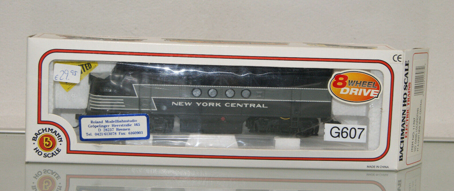 Bachmann Nuovo York Central FT-A DIESEL USA ho 11707  g607