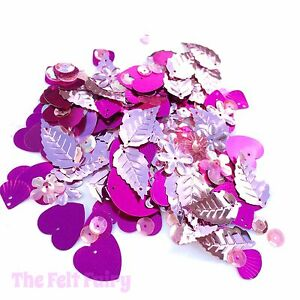 Mixed-Cup-Sequins-100-Loose-Sparkling-Pinks-Mix