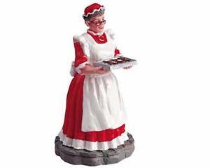 Lemax Village Collection Mrs Claus Figurine 52012 Christmas Village