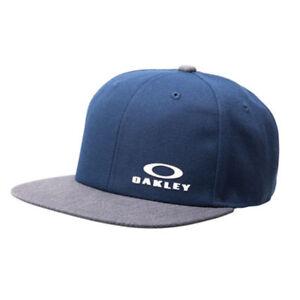 acheter de nouveaux beaucoup à la mode Chaussures de skate Détails sur Oakley Flexfit Bg Chapeau Hommes Motocross Réglable - Fathom  Bleu