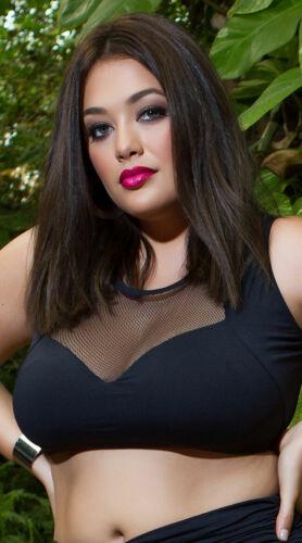 Womens Yandy Plus Size Throwing Shade Bikini Top