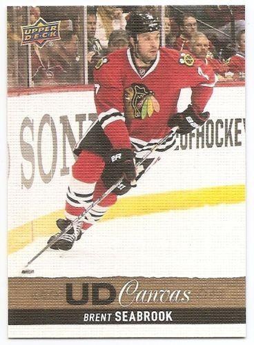 13//14 UPPER DECK UD CANVAS variaciones Hockey para elegir de la lista #C161-C270