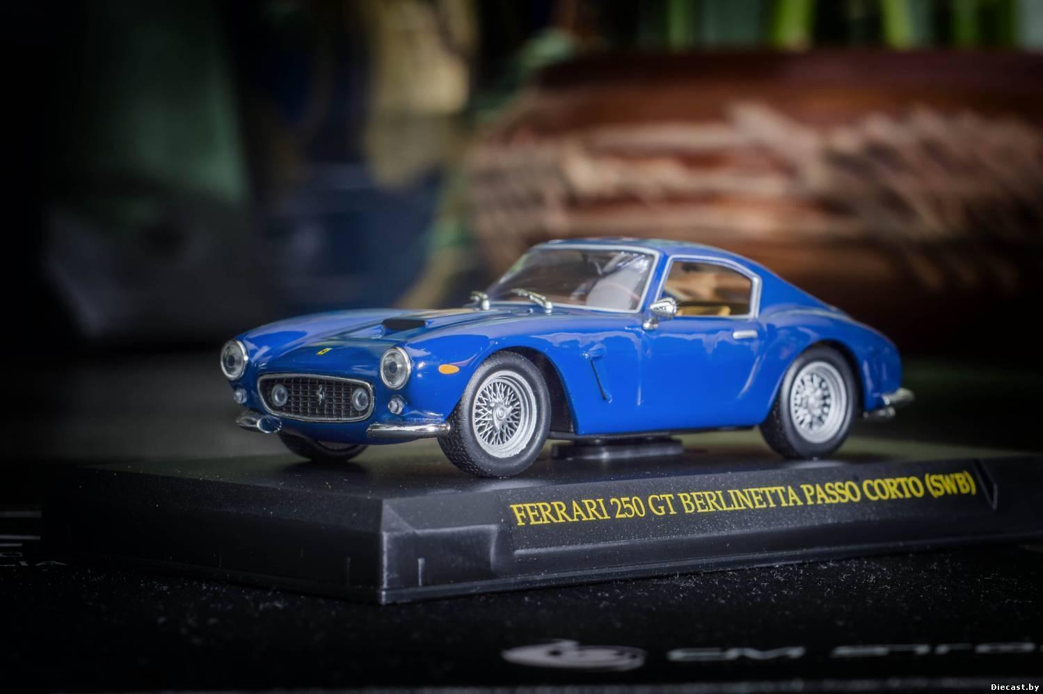 Ferrari 250 gt berlinetta mit stoßstangen ferrari - sammlung ein diecast modell 1 43   17.