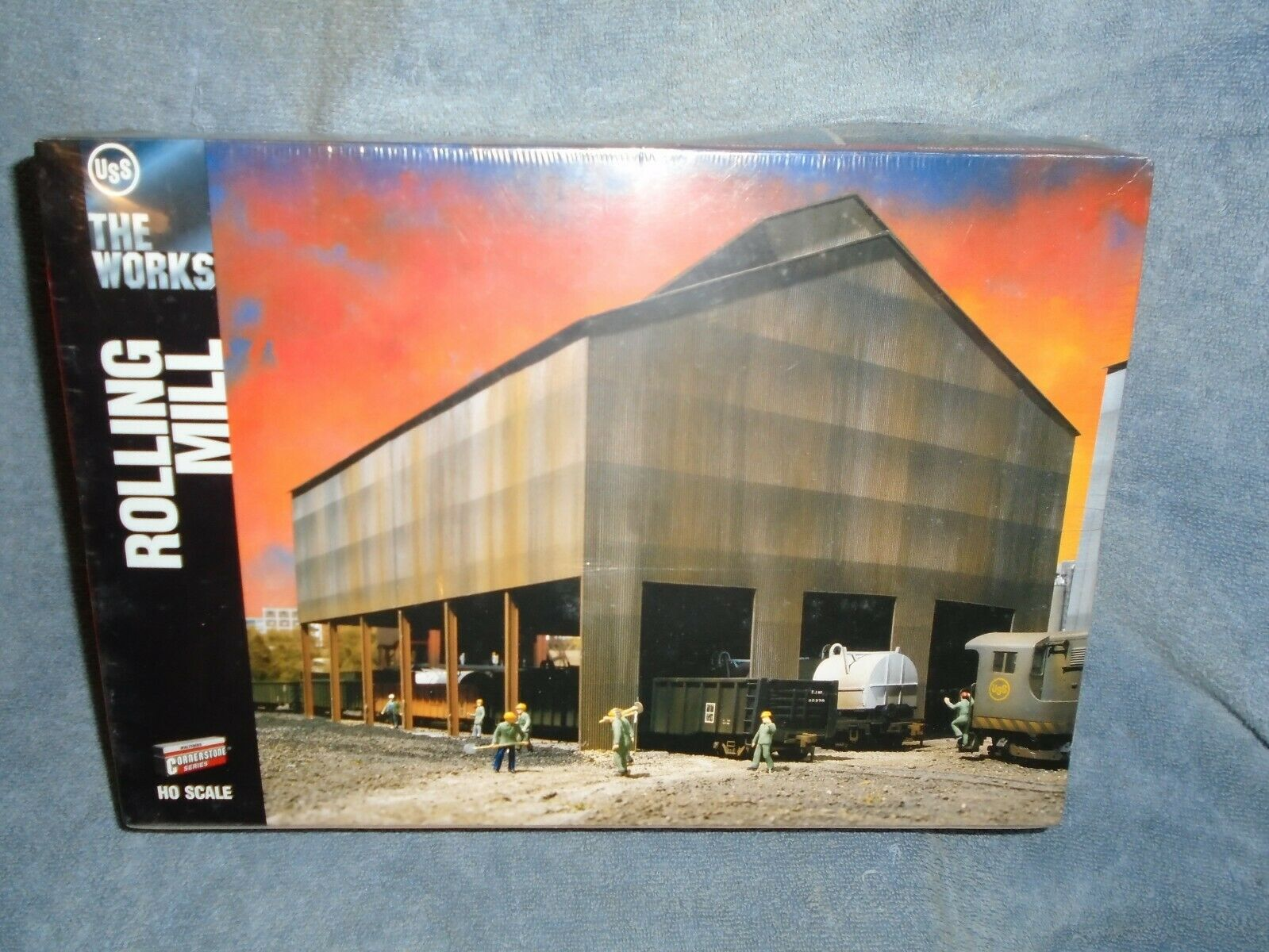 n ° 1 online WALTHERS CORNERSTONE SERIES HO SCALE  933-3052 THE THE THE lavoroS USS ROLLING MILL  confortevole
