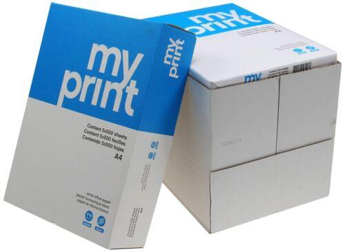 Multifunktions-Kopierpapier 2500 Blatt DIN A4 80g//m² Papier.