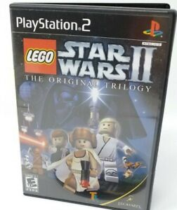 LEGO Star Wars II The Original Trilogy (Sony PlayStation 2) PS2 GAME COMPLETE
