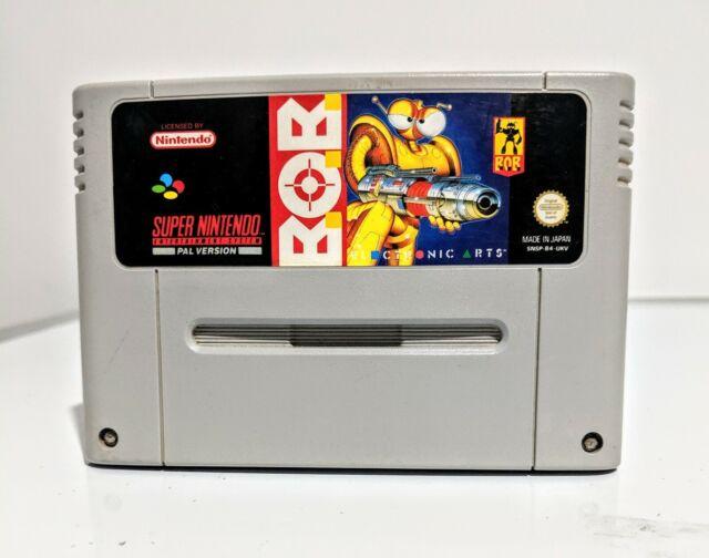 Super Nintendo B.O.B. SNES PAL Game Cartridge NES BOB