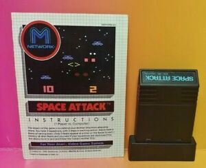 Atari-2600-Space-Attack-Game-amp-Instruction-Manual-Tested-Works-Rare