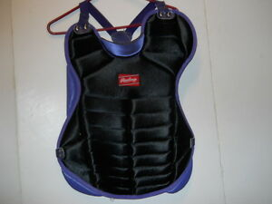 RAWLINGS-ADULT-CHEST-PROTECTOR-MODEL-RCP-BLACK-PURPLE