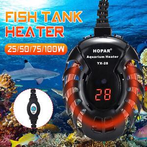 25-300W-Mini-Aquarium-Heater-Fish-Tank-Turtle-Submersible-Thermostat-LED-Light