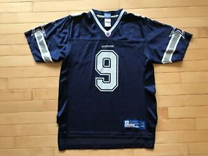 9956b6c98e6 Tony Romo Dallas Cowboys Reebok #9 NFL Football Jersey SIZE Youth ...