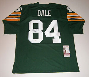 PACKERS-Carroll-Dale-signed-jersey-w-84-JSA-COA-AUTO-Autographed-Green-Bay