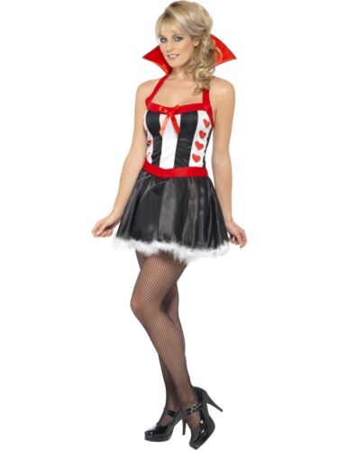 Königin der Herzen Damen Kostüm Smiffy`s Queen of Hearts Karneval Fasching neu