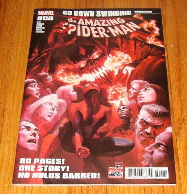 1st Red Goblin! 2018 #800 CGC 9.6 Alex Ross Regular Cover Amazing Spider-Man