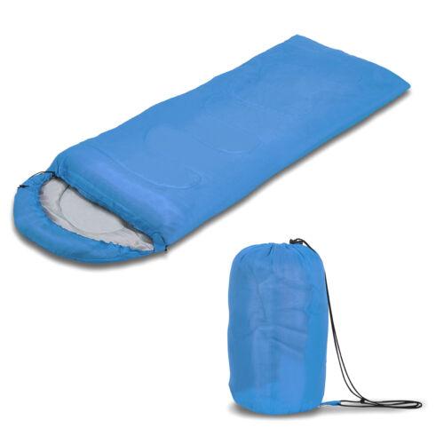 Single 4 Season Sleeping Bag Camping Hiking Outdoor Waterproof Envelope Zip Bags