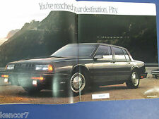 1990 Oldsmobile Trofeo', Touring Sedan, 98, 88, Custom Cruiser Brochure D8231