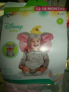 Dumbo Infant Costume Disney Baby