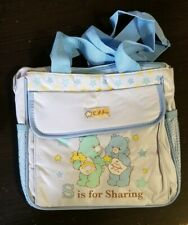 Care bears mini cooler bag blue boy baby nursery gift new!