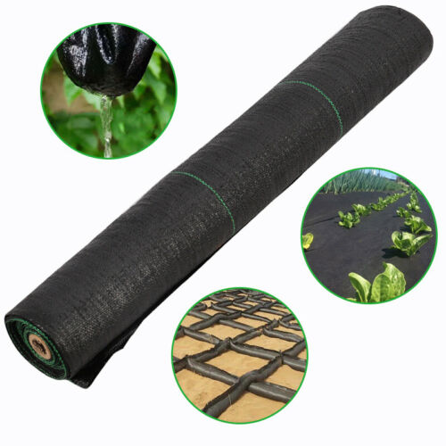 2m Wide Ground Roll Weed Control Fabric Landscape Garden Membrane Sheet Cover UK
