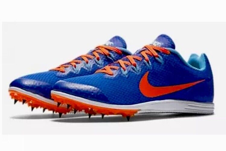 Nike Zoom Rival D 9 Men's Spikes Track Field Racing 806556 484 Blue Comfortable The latest discount shoes for men and women