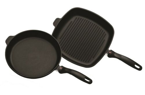 NEW Swiss Diamond XD Induction Grill 28cm and Frypan 28cm
