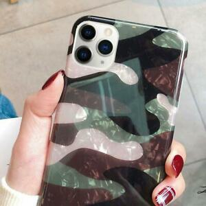 iPhone-11-Pro-Max-Case-Sparkle-Bling-Crystal-Soft-TPU-Women-Clear-Camouflage