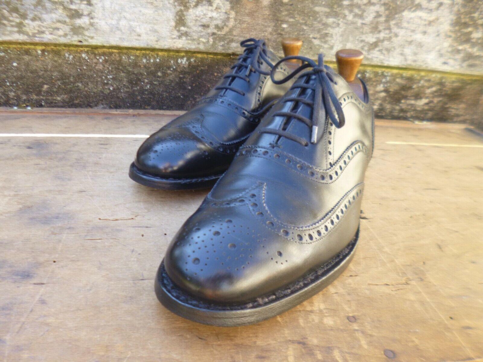 negozio all'ingrosso CHURCH scarpe brogue Vintage-Nero-– Ottime Ottime Ottime condizioni  autorizzazione ufficiale