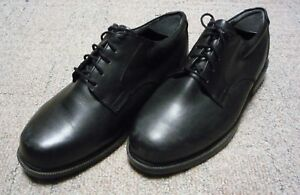 Men's Black Dunham Ruggards Tie Shoes 9