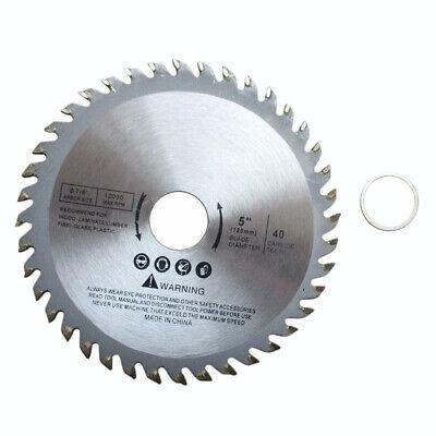 12.7cm Lame Scie Disque Pour Meuleuse Angle 125mm Bois Coupe Circulaire 40 Dents