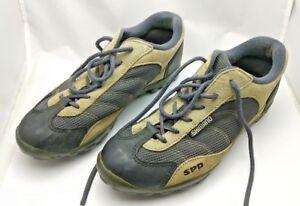 Shimano-Women-039-s-Size-38-Shoes-SPD-Cycling-Black-Tan-SH-M020-2-bolt-cleats-S205