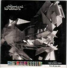CHEMICAL BROTHERS: UK PROMO CD: 10 TRACKS (2010) SWOON GALVANIZE SATURATE ETC