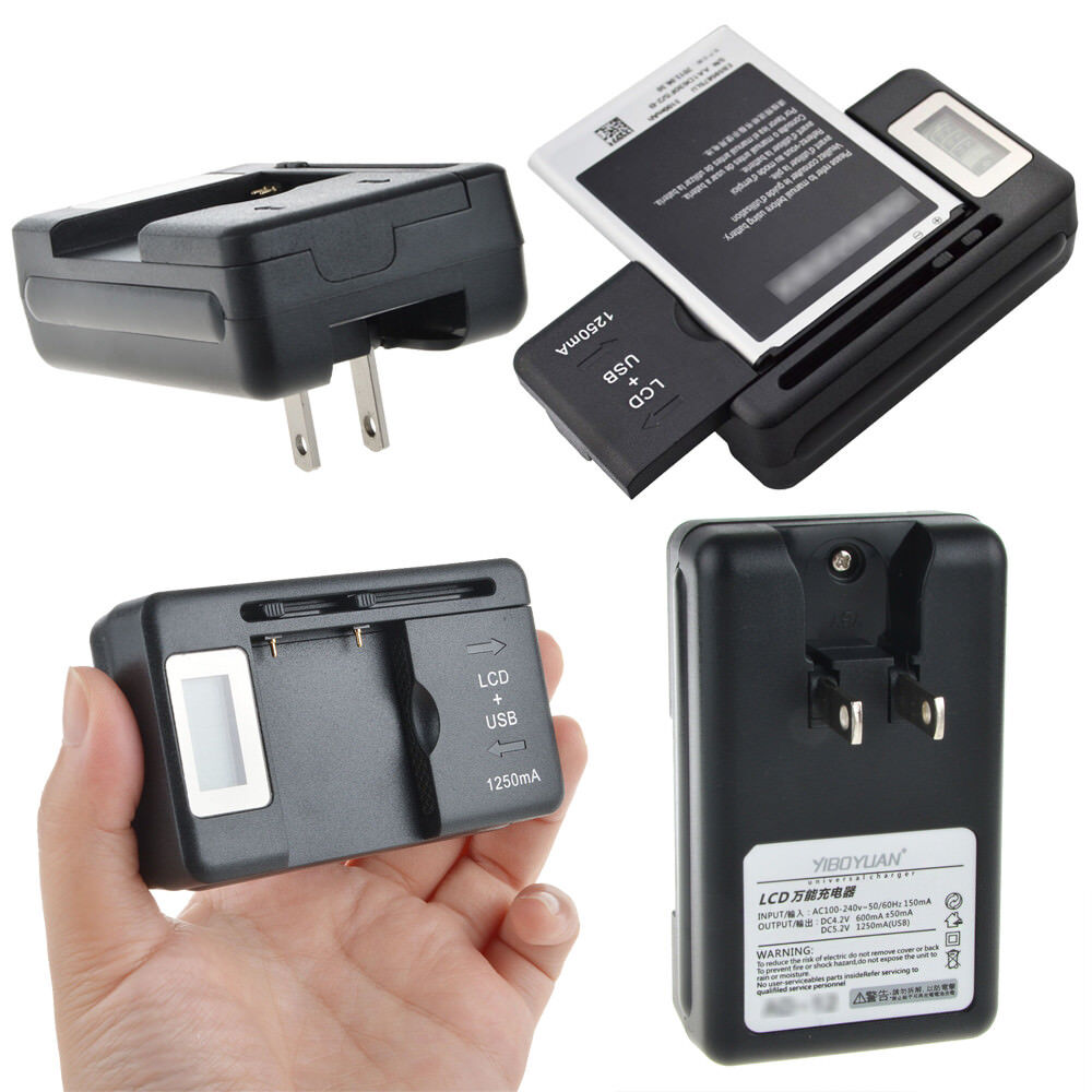 YIBOYUAN Brand LCD Battery Charger for Samsung GT-i9220 Note1 i889 9228 N7000