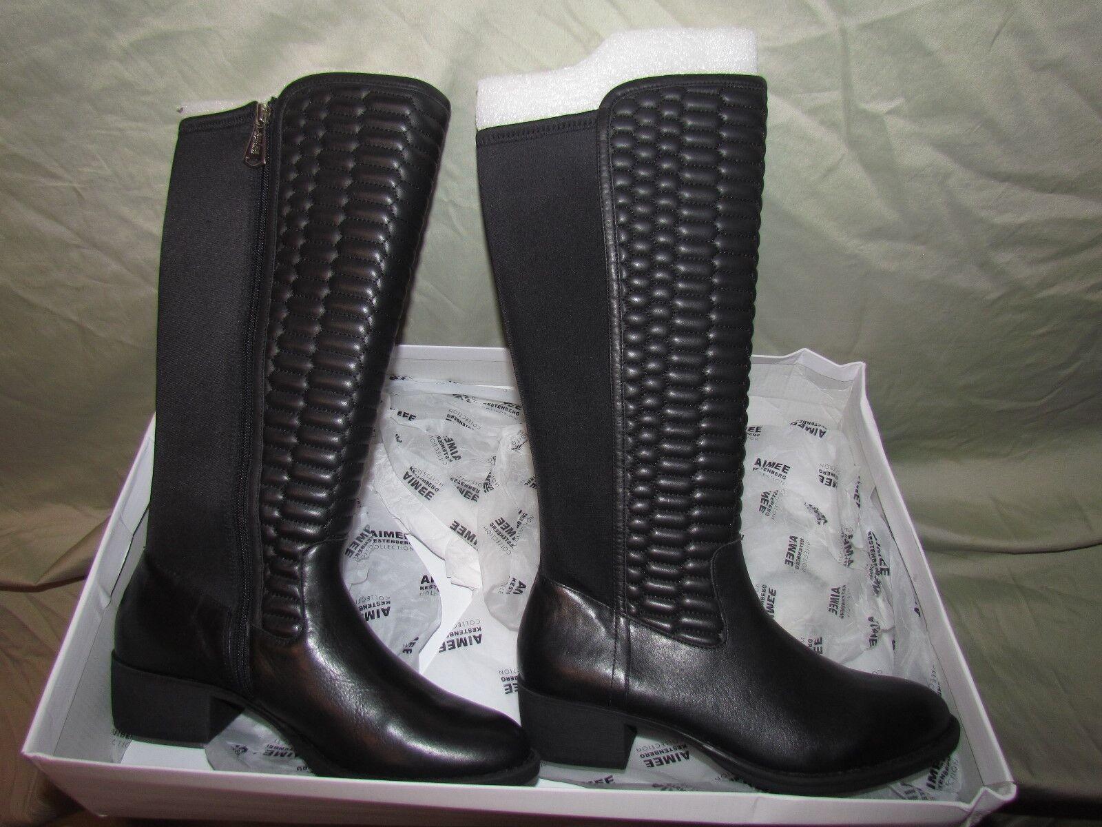 botas de de de cuero de altura del eje Aimee Kestenberg-Aimee tamaño 11 medio  cómodo