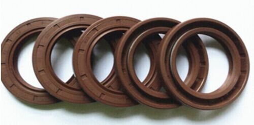 159A Select Size ID 32-38mm TC Double Lip KFM Oil Shaft Seal with Spring