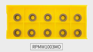 10Pcs RPMW1003MO VP15TF Carbide Inserts