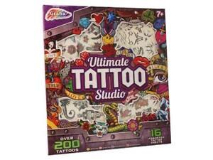 Analytique Ultime Tatouage Studio 200 Pièce Art Activité Manuelle Enfants Ensemble Prix Le Moins Cher De Notre Site