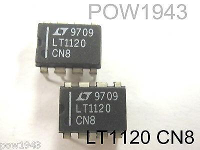10 OP07CN8 LINEAR TECH 8 PIN DIP OP-AMP QTY