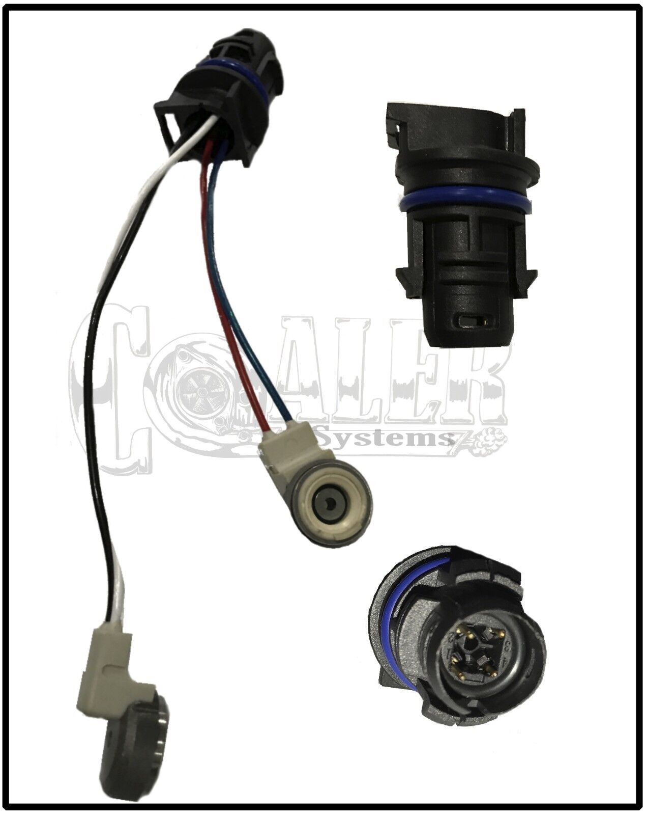 03-10 6.0L Ford Powerstroke Injector Solenoid Plug Kit 3052