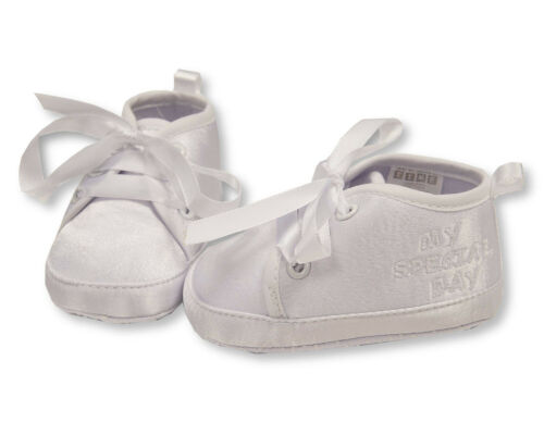 Baby Boys Christening// Baptism Shoes My Special Day 6-12 mo. Sizes 0-6