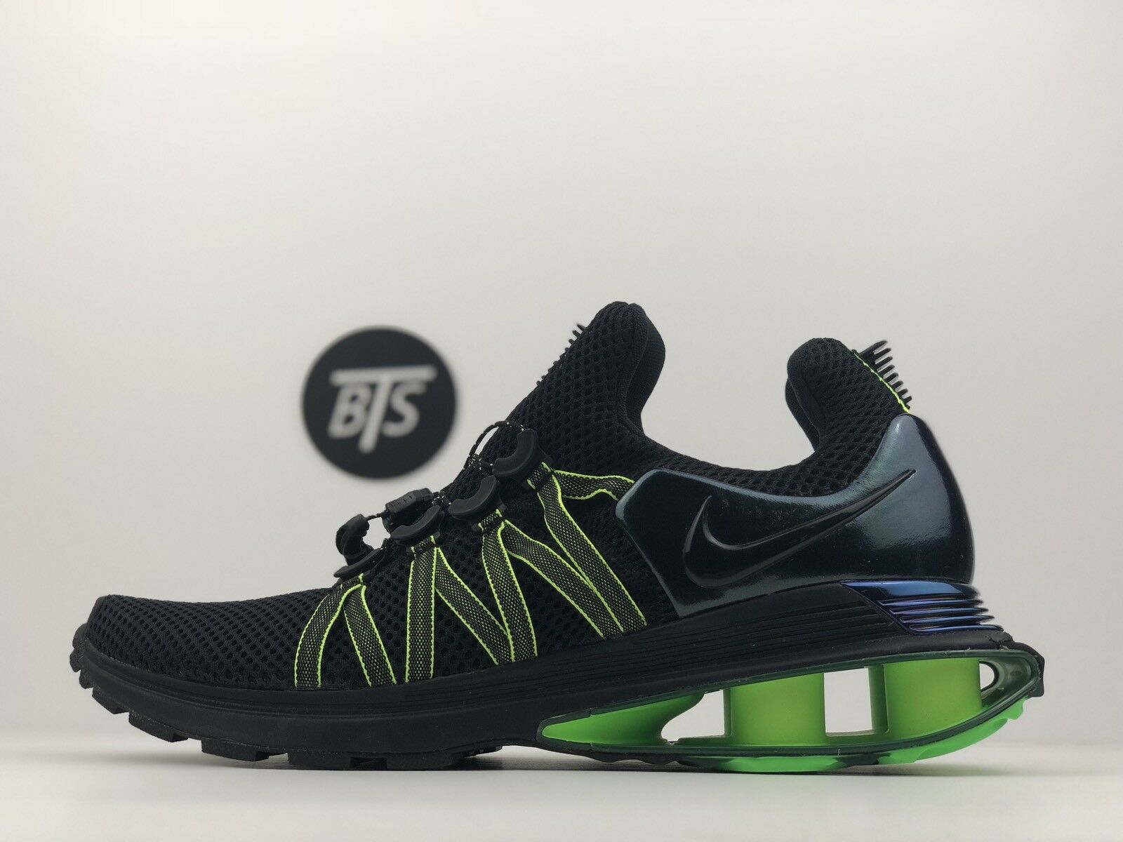 "Men's Nike Shox Gravity ""Green"" Size-10.5 Gorge Green Black (AR1999 003)"