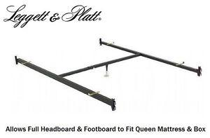 full headboard footboard to queen bed conversion hook in bed frame rails 515 1 ebay. Black Bedroom Furniture Sets. Home Design Ideas