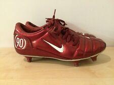 NIKE TOTAL 90111 AIR ZOOM RED KIDS JUNIOR FOOTBALL BOOTS UK 6 EUR 40
