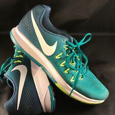 5725c9624ee3 item 7 Nike Air Zoom Pegasus 33 Black Men s 10.5 Running 831352 313 Teal  Blue Fade Volt -Nike Air Zoom Pegasus 33 Black Men s 10.5 Running 831352  313 Teal ...