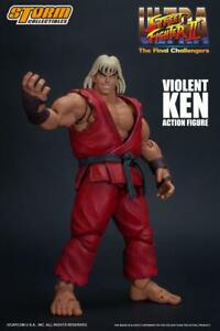 Street Fighter ~ Violent Ken - Figurine d'action à l'échelle 1/12 - Storm à collectionner 4897072870633