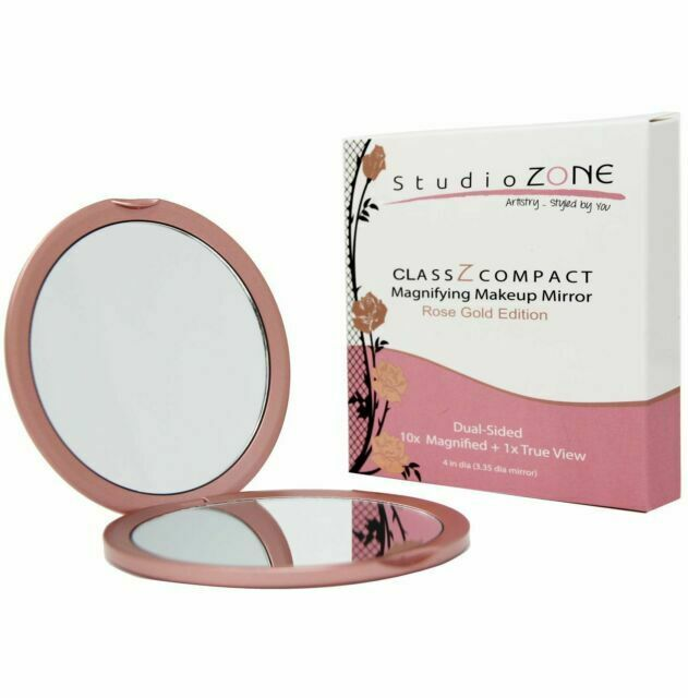 Compact Mirror 10x Magnifying Makeup, Best Magnifying Travel Makeup Mirror