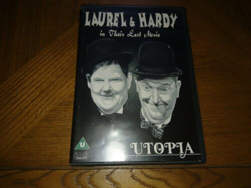 1 of 1 - The Laurel And Hardy Collection - Utopia (DVD, 1999)