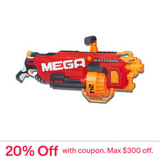 Nerf Mega Mastodon Blaster + Toy Darts - Be The Top Gun In Outdoor Kids Games