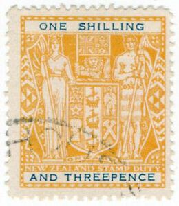 I-B-New-Zealand-Revenue-Stamp-Duty-1-3d-blue-type