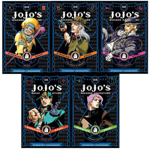 Jojos Bizarre Adventure Part 3 Stardust Crusaders Vol1 5 By